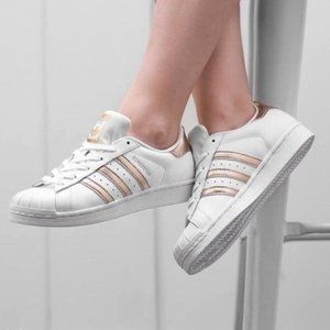 Best 25 Deals for Rose Gold Adidas Shoes | Poshmark